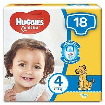 Huggies Unistar Maxi Size 4 (7-18 Kg) 18 pcs.