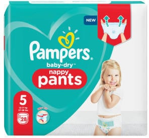 Pampers Baby Dry Pants Gr. 5 (12-17 kg) 28 St.