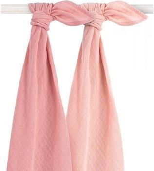 Jollein Bamboo Mullwindeln 2er-Pack pale pink