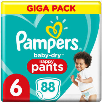 Pampers Baby Dry Pants Gr. 6 (15+ kg) 88 St.