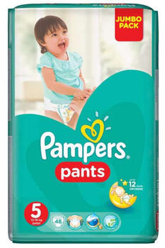 Pampers Baby Dry Pants Gr. 5 (12-18 kg) 48 St.