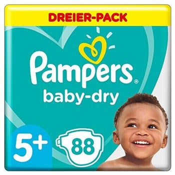 Pampers Baby Dry Gr. 5+ (12-17 kg) 88 St.