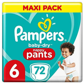 Pampers Baby Dry Pants Gr. 6 (15+ kg) 72 St.
