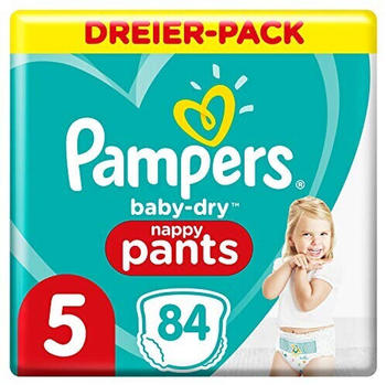 Pampers Baby Dry Pants Gr. 5 (12-17 kg) 84 St.