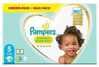 Pampers Premium Protection Gr. 5 (11-16 kg) 78 St.