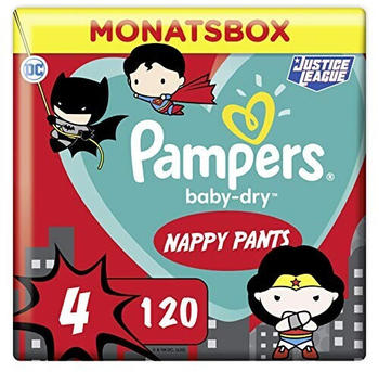 Pampers Baby Dry Pants Gr. 4 (9-15 kg) 120 St.