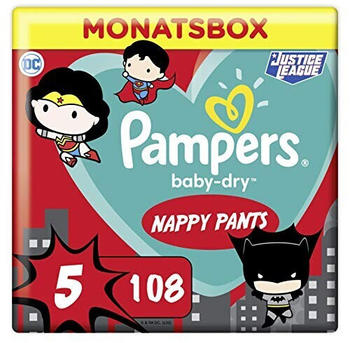 Pampers Baby Dry Pants Gr. 5 (12-17 kg) 108 St.