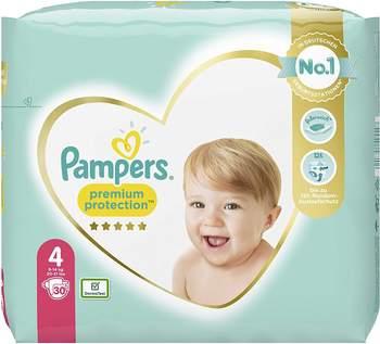 Pampers Premium Protection Gr. 4 (9-14 kg) 30 St.
