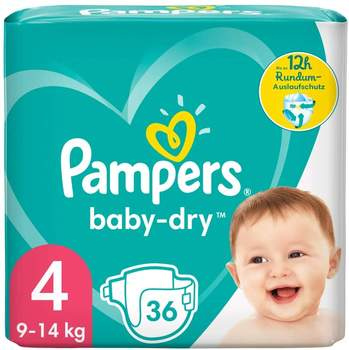 Pampers Baby Dry Gr. 4 (9-14 kg) 36 St.