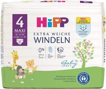 Hipp Babysanft Maxi 4 (8-14kg) 32 St.