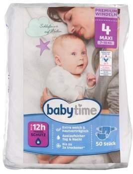 Penny Babytime Premium Windeln Größe 4 maxi 50 St.