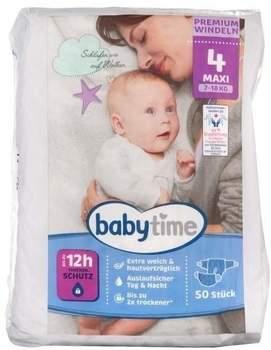 Rewe Babytime Premium Windeln Größe 4 maxi 50 St.