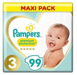 Pampers Premium Protection Gr. 3 (5-9 kg) 99 St.