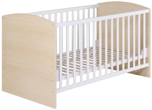 Roba Kinderbett Lena Ahorn Weiß (70 x 140)