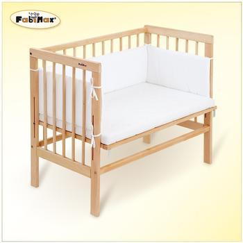 fabimax-beistellbett-babymax-basic-natur-inkl-matratze-und-nestchen-amelie