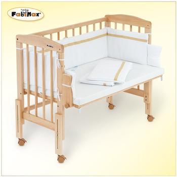 fabimax-beistellbett-pro-erle-unbehandelt-inkl-matratze-comfort-und-nestchen-hanna