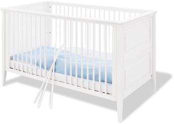 Pinolino Smilla Babybett 140x70cm weiß (111673)