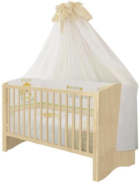 Polini Kids Simple Kombi-Kinderbett 140x70cm natur (1176.30)