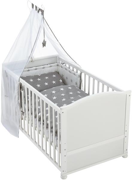 Roba Little Stars Kombi-Kinderbettset weiß (203007WEV190)