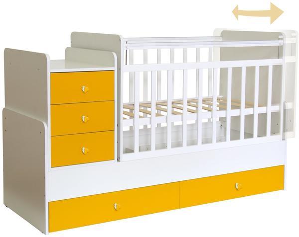 Polini Kids Simple 1100 weiß/gelb (1227.18)