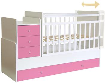 Polini Kids Simple 1100 - weiß/rosa (1227.21)