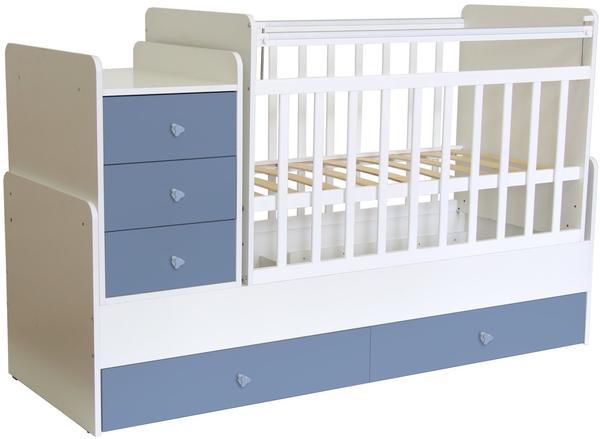 Polini Kids Simple 1100 - weiß/blau (1227.17)