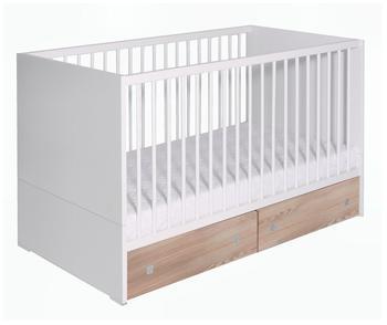 Schardt Kinderbett Clic weiß/pine