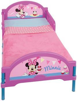 Worlds Apart Disney Minnie Mouse Bett 140x70 cm Kinderbett Kinderzimmer Mädchen Zimmer Metall Kunststoff