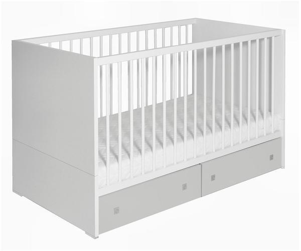 Schardt Kinderbett Clic weiß/grau