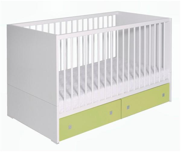 Schardt Kinderbett Clic weiß/grün