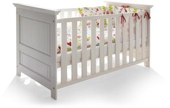 Möbel-Eins Odette Babybett Massivholz weiß