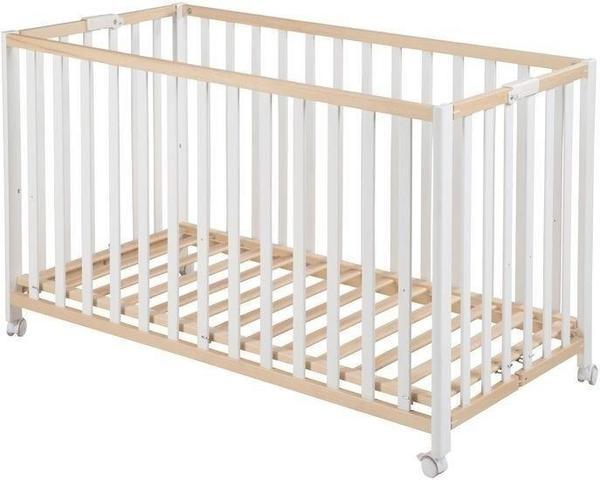 Babies R Us Fold Up Klappbett 60x120cm BIO-Buche natur (287100NA)