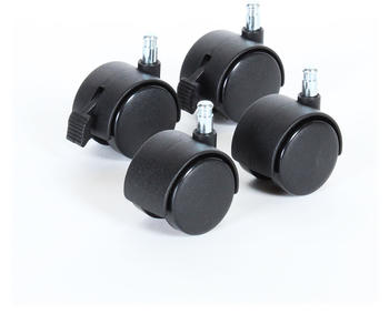 Babybay Rollensatz Parkett passend für alle Modelle schwarz (100400)