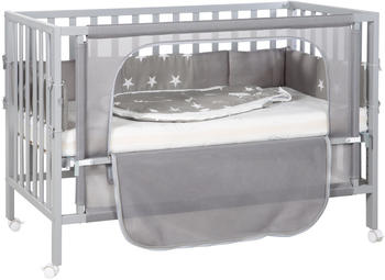 Roba Room Bed safe asleep (60 x 120 cm) Little Star/taupe