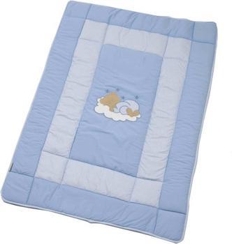 Easy Baby Krabbeldecke Sleeping Bear blau (100x135)