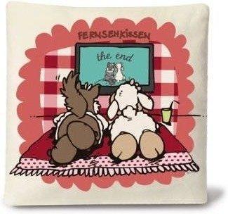 NICI Kissen - Fernsehkissen (26 x 26)