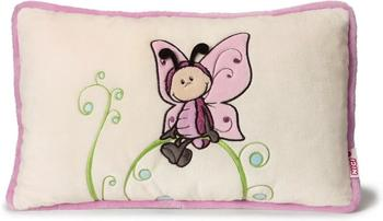 NICI Kissen Schmetterling mit Applikation rechteckig 43 x 25 cm