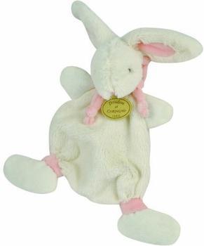 Doudou Schmusetuch Lapin Bonbon 26 cm rosa