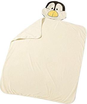 NICI Winter - Plüschdecke Pinguin 144 x 120 cm