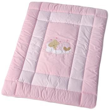 Easy Baby Krabbeldecke Sleeping Bear rosa (100x135)
