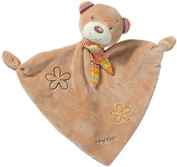 Fehn Rainbow Schmusetuch Teddy Tom