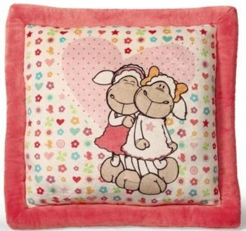 NICI Jolly Mäh - Kissen Jolly & Frances quadratisch 40 x 40 cm