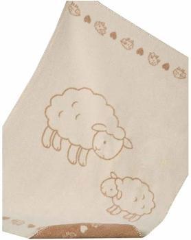 Richter Textilien Baby Baumwolldecke Molly 75 x 100 cm