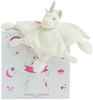 Doudou Silver unicorn comforter