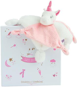 Doudou Pink unicorn comforter