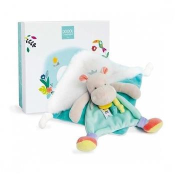 Doudou Tropicool - Hippo comforter