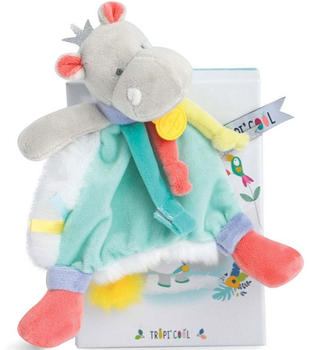 Doudou Tropicool - Hippo dummy holder