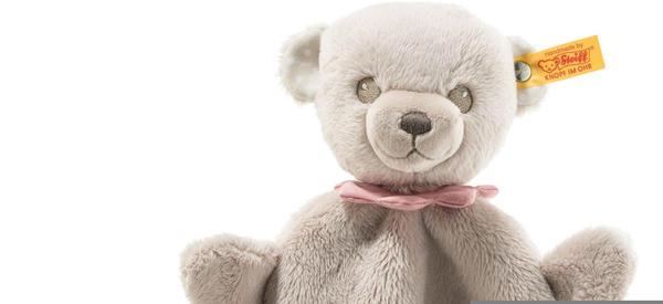 STEIFF 241598 Teddybär Hello Baby Lea Schmusetuch rosa 28cm grau Teddy