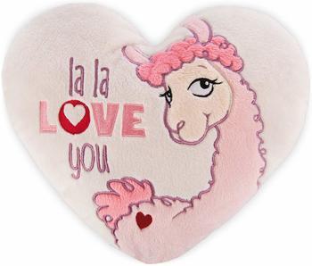 NICI Herzkissen Lama La Love 25 cm