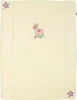 Sterntaler Schmusedecke Lama Lotte 75 x 100 cm beige